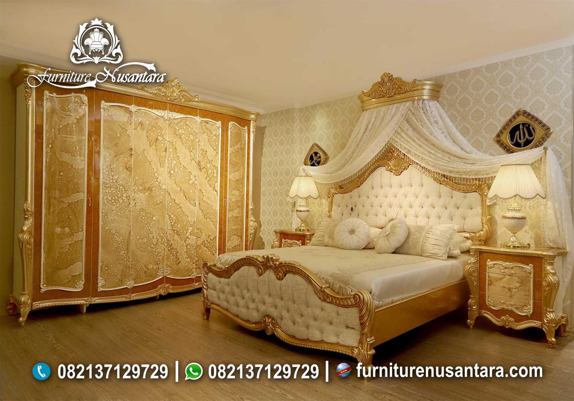 Bedset Klasik Mewah Terbaik KS-01, Furniture Nusantara
