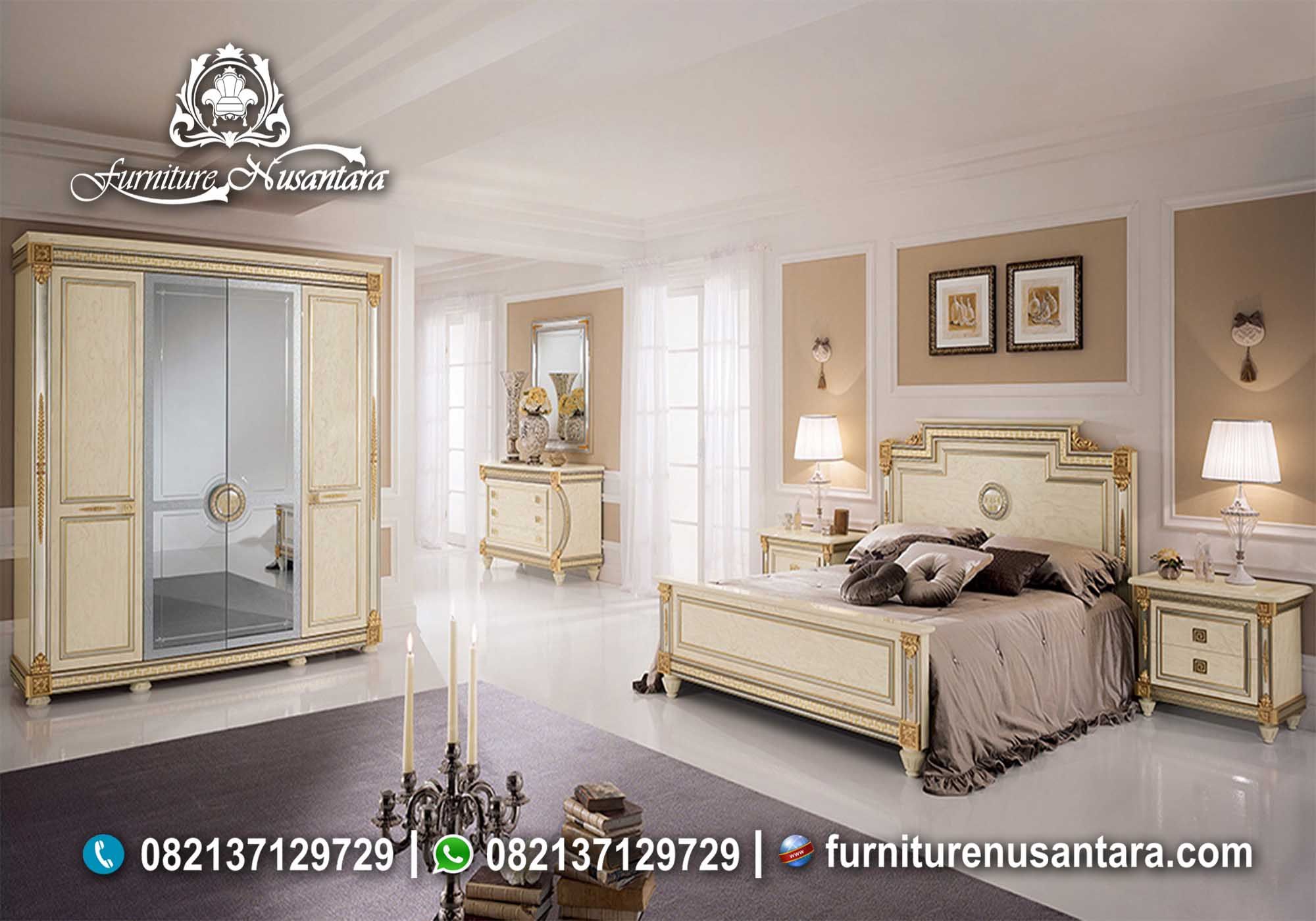 Desain Kamar Tidur Yang Nyaman KS-89, Furniture Nusantara