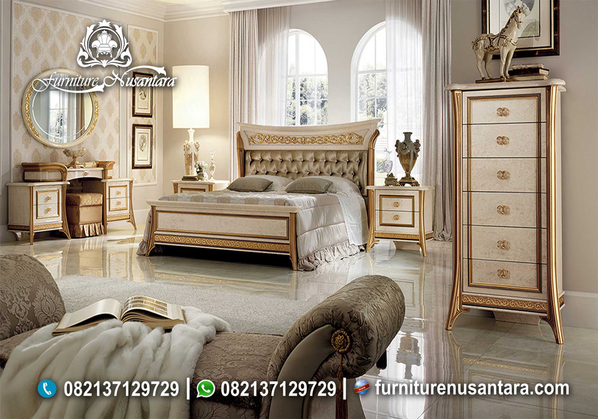 Model Kamar Luxury Terbaik KS-95, Furniture Nusantara
