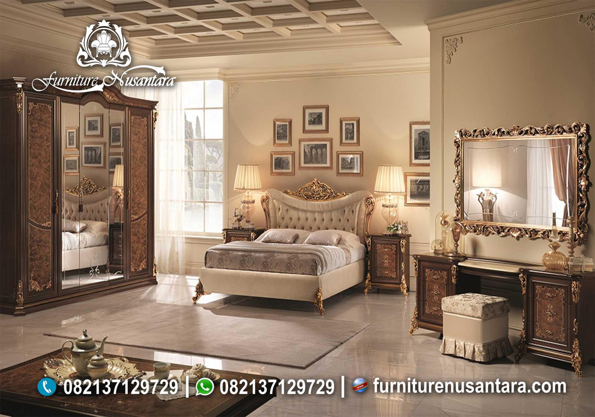 Kamar Set Klasik Luxury KS-96, Furniture Nusantara
