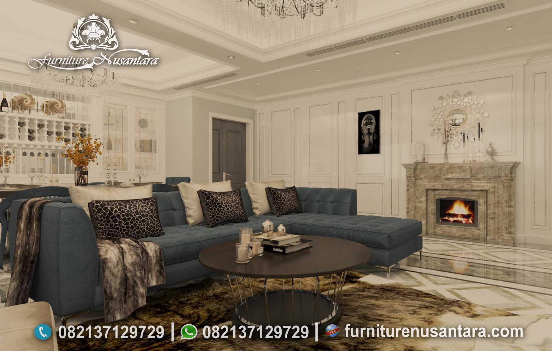 Sofa Minimalis Modern Hijau Tosca ST-03, Furniture Nusantara