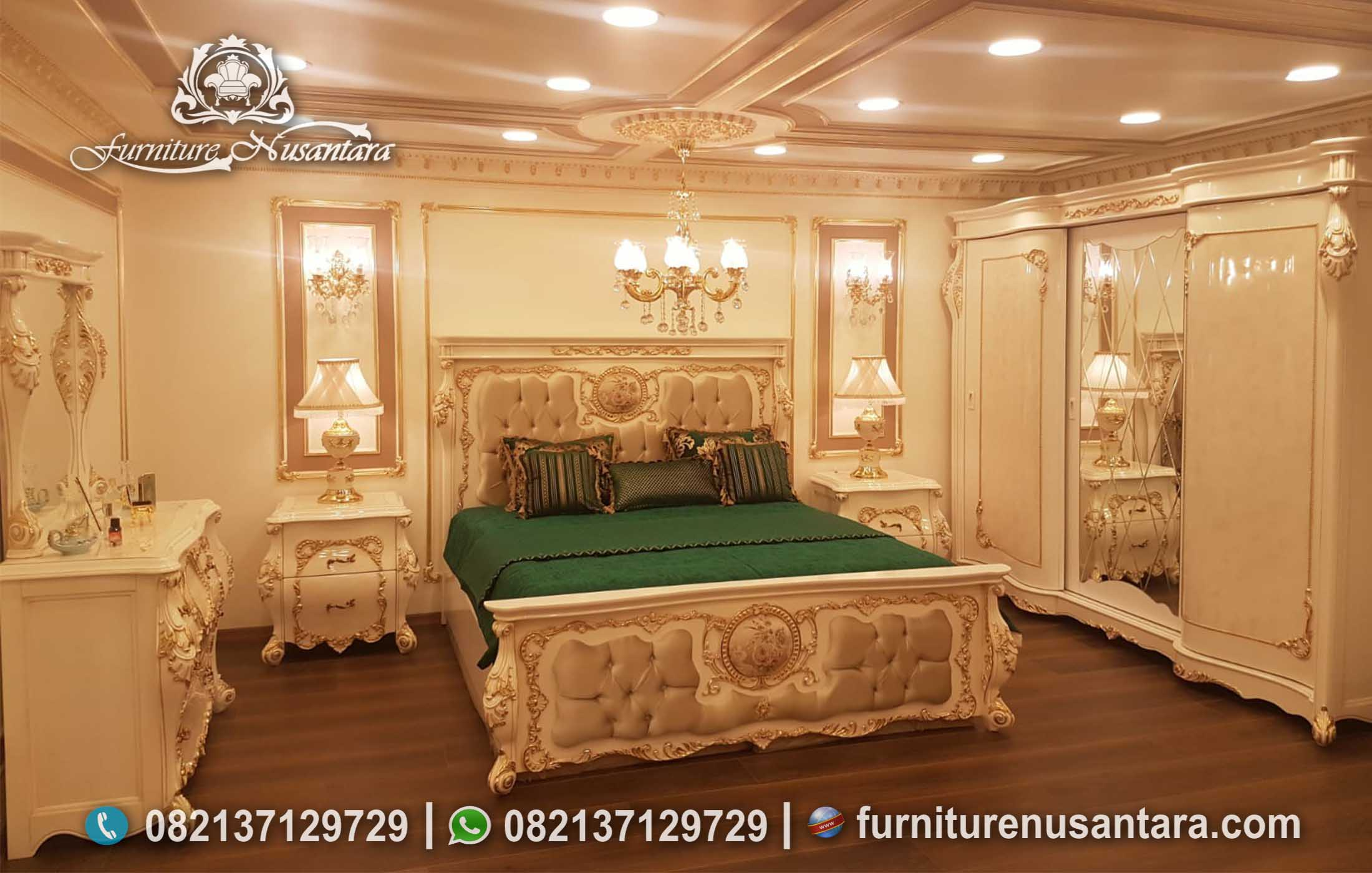 Kamar Tidur Klasik Modern KS-112, Furniture Nusantara