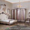 Kamar Tidur Warna Ungu Mewah KS-127, Furniture Nusantara