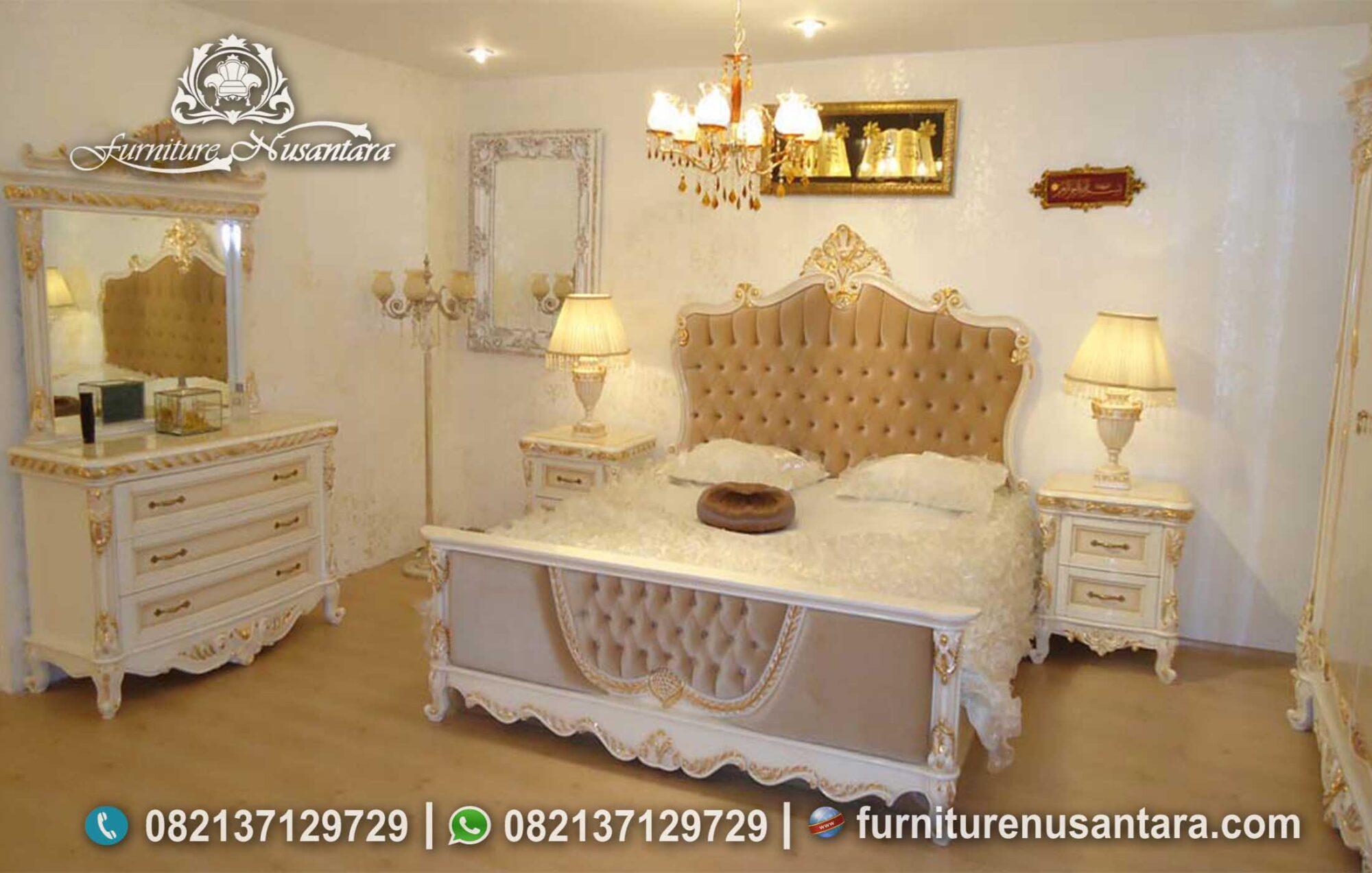 Jual Set Kamar Klasik Modern KS-117, Furniture Nusantara