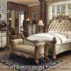 Bed Cover Tempat Tidur Modern KS-125, Furniture Nusantara