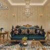 New Model Gambar Sofa Ukir Mewah ST-15, Furniture Nusantara