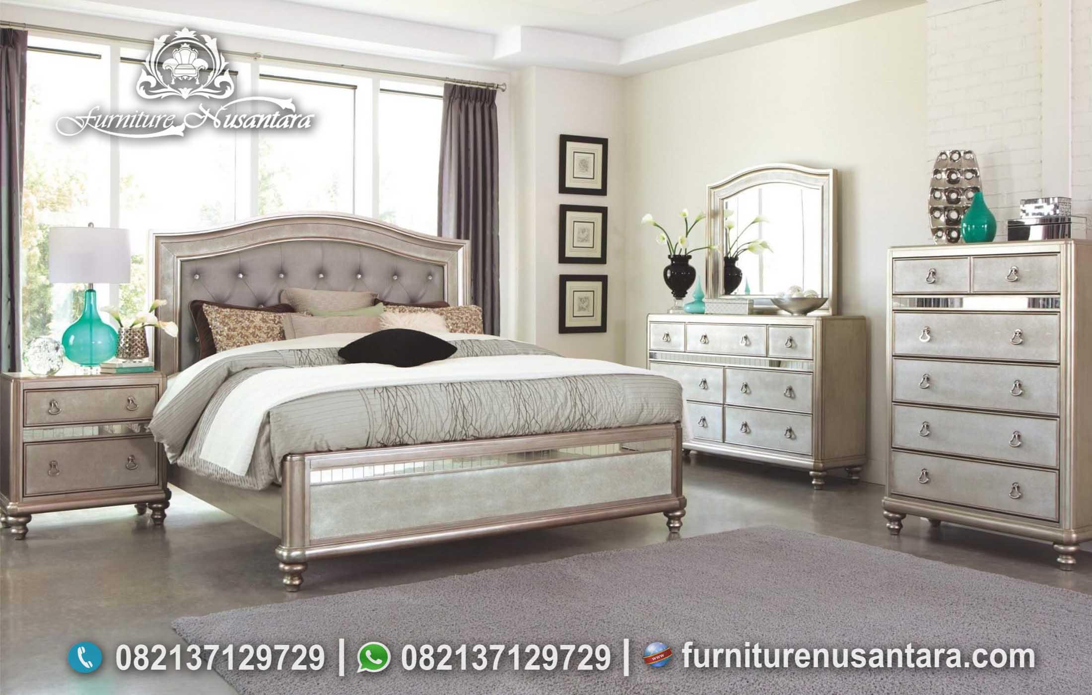 Kamar Set Minimalis Kekinian KS-102, Furniture Nusantara