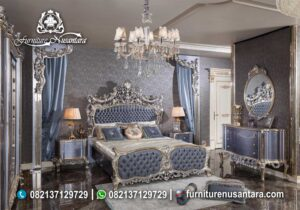 Kamar Set Luxury Mewah Terbaru 2020 KS-12, Furniture Nusantara