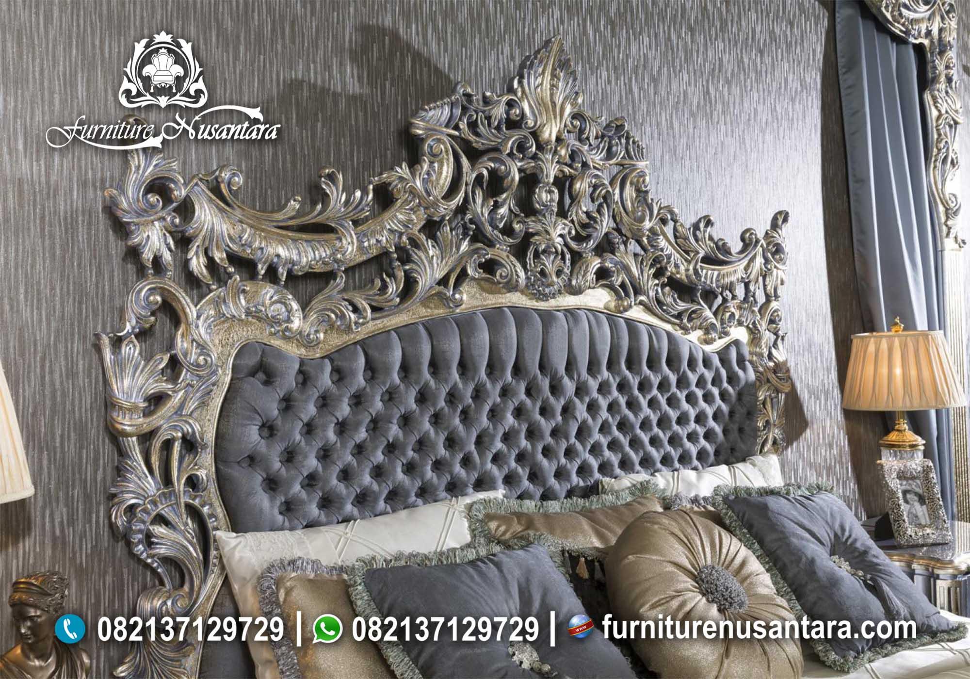 Kamar Set Luxury Mewah Terbaru 2020 KS-12, Furniture Nusantara