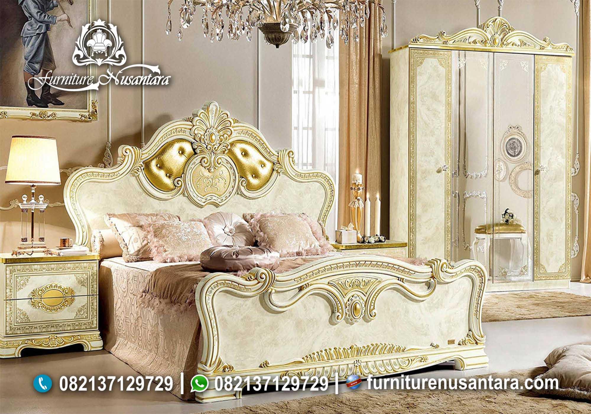 Kamar Set Terbaru Mewah Modern KS-14, Furniture Nusantara