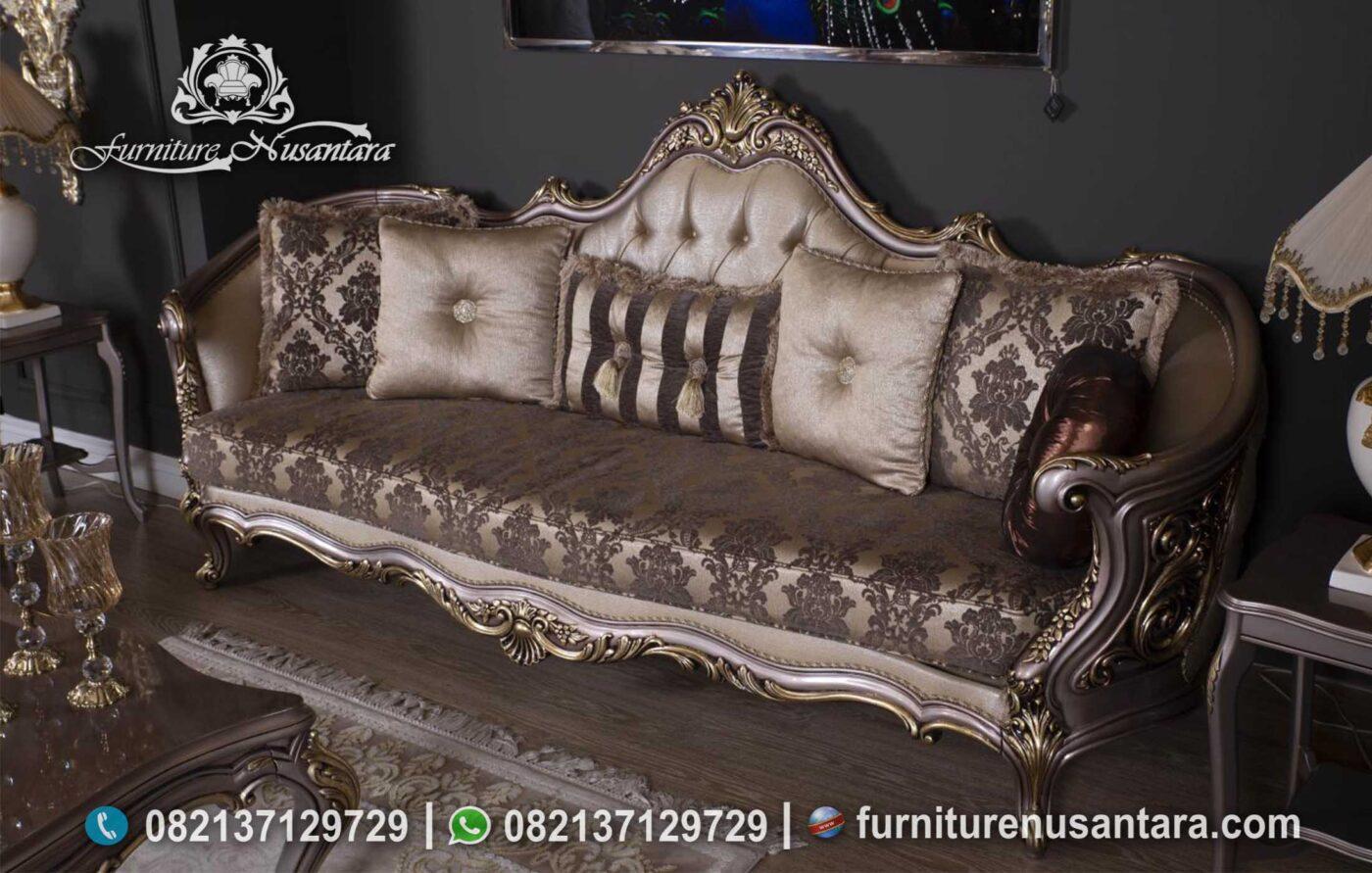 Model Terbaik Sofa Tamu Klasik Eropa ST-26, Furniture Nusantara
