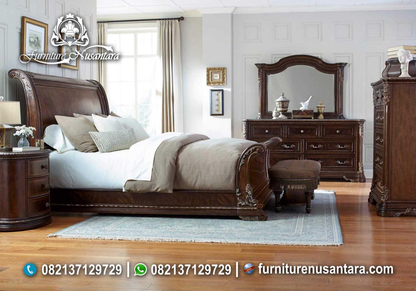 Kamar Set Kayu Jati Terbaru 2020 KS-16, Furniture Nusantara