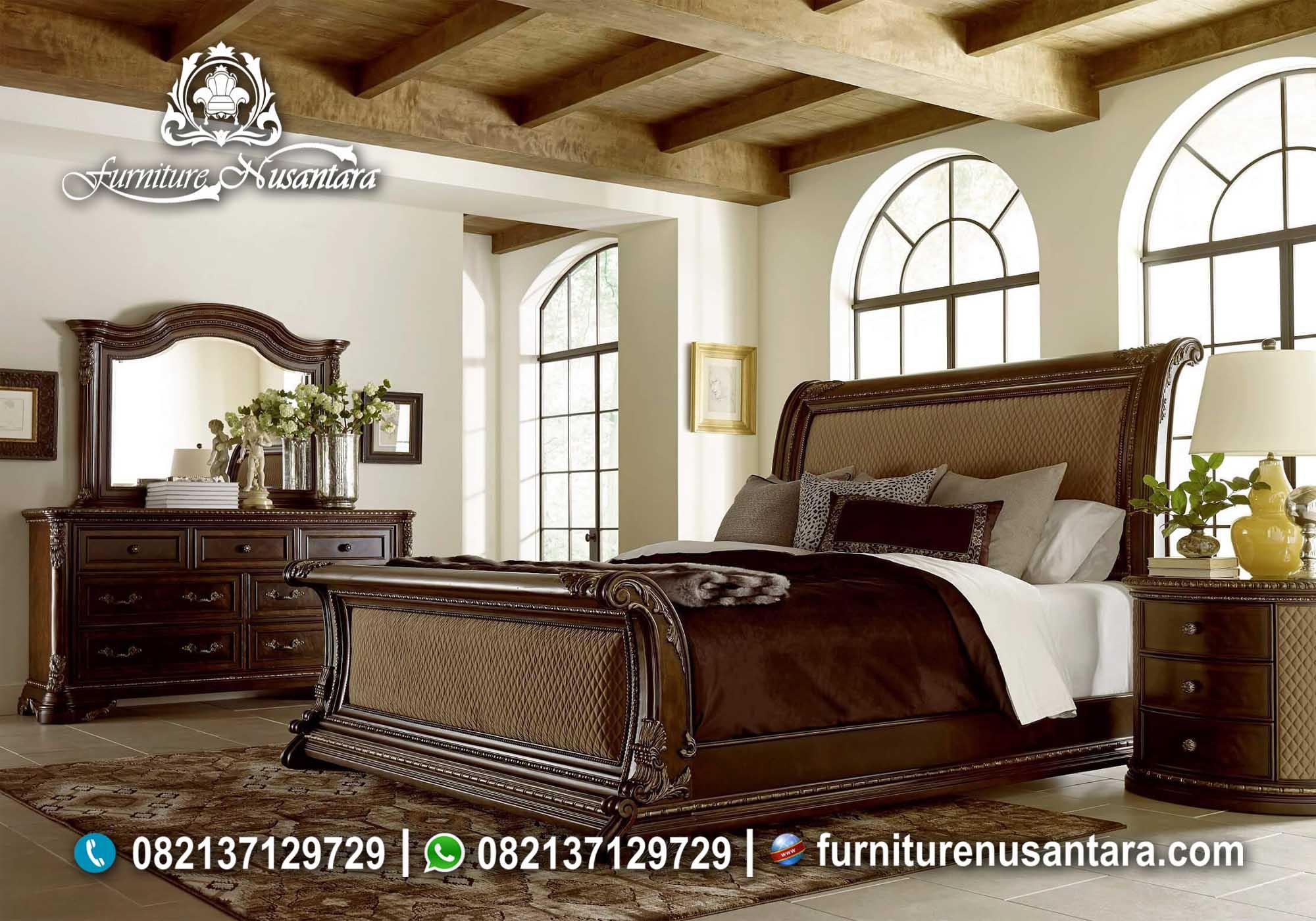 Kamar Set Mewah Modern Terbaru KS-17, Furniture Nusantara