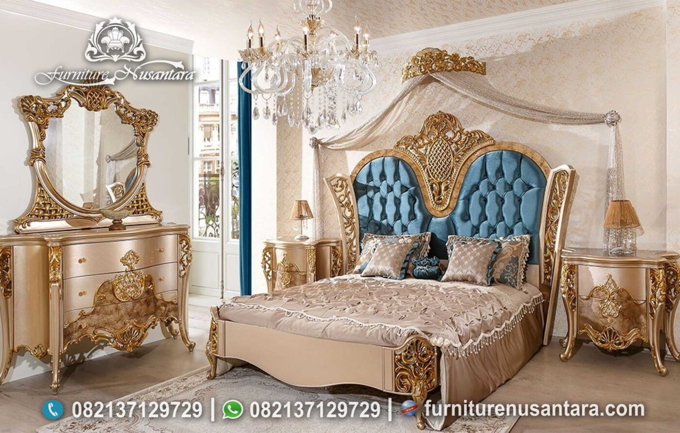 Jual Set Kamar Raja KS-37, Furniture Nusantara
