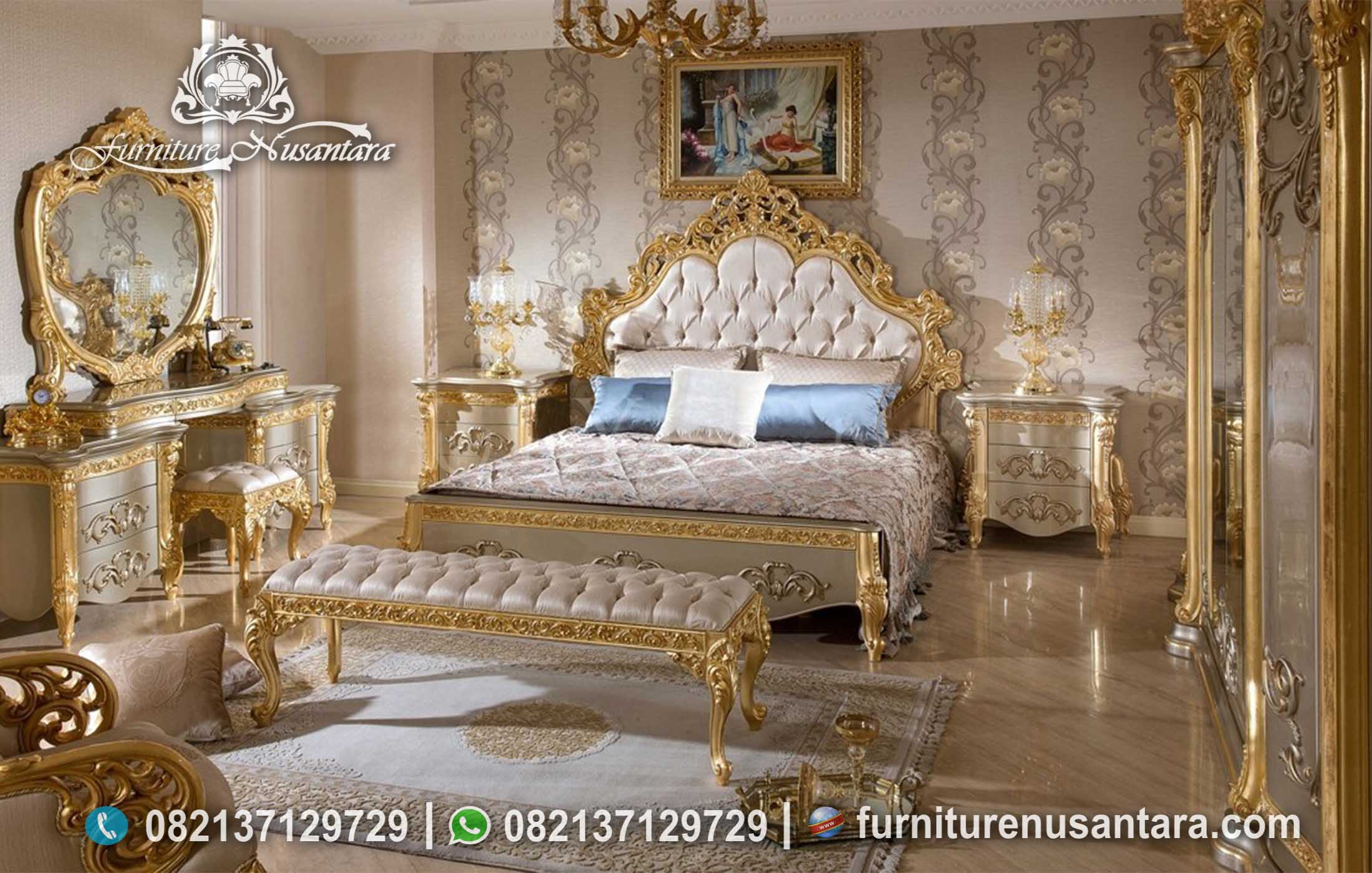 Kamar Set Model Timur Tengah KS-38, Furniture Nusantara