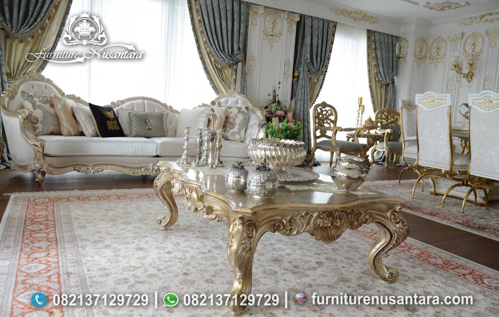 Sofa Ukir Jepara Luxury Desain ST-04, Furniture Nusantara