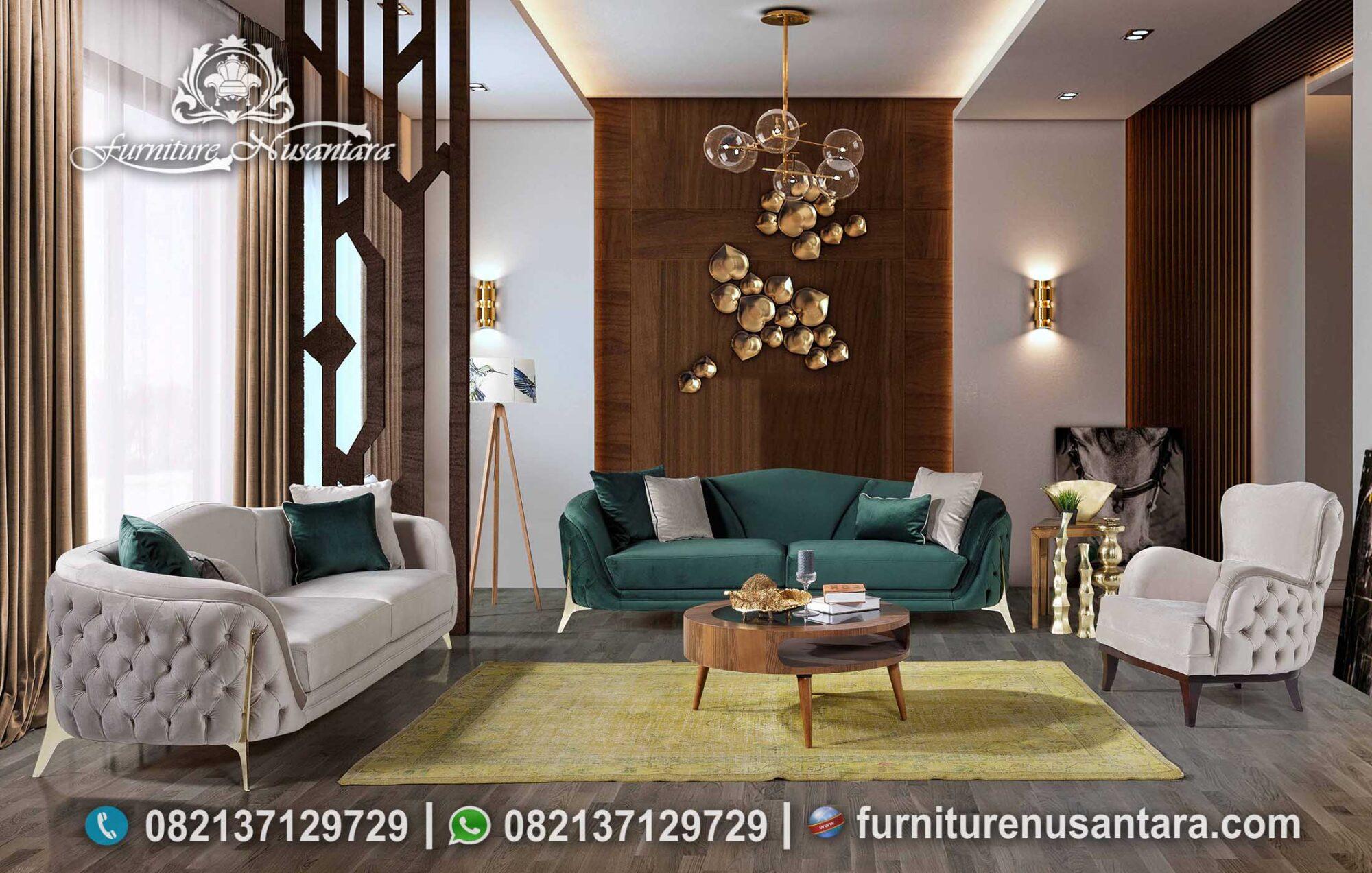 Harga Sofa Set Minimalis Terbaik ST-10, Furniture Nusantara