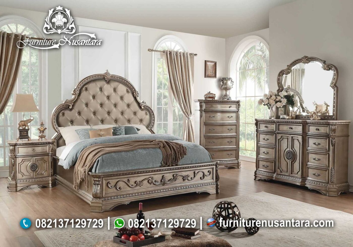 Jual Kamat Set Custom KS-27, Furniture Nusantara