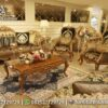 Sofa Luxury Modern Natural Emas ST-05, Furniture Nusantara