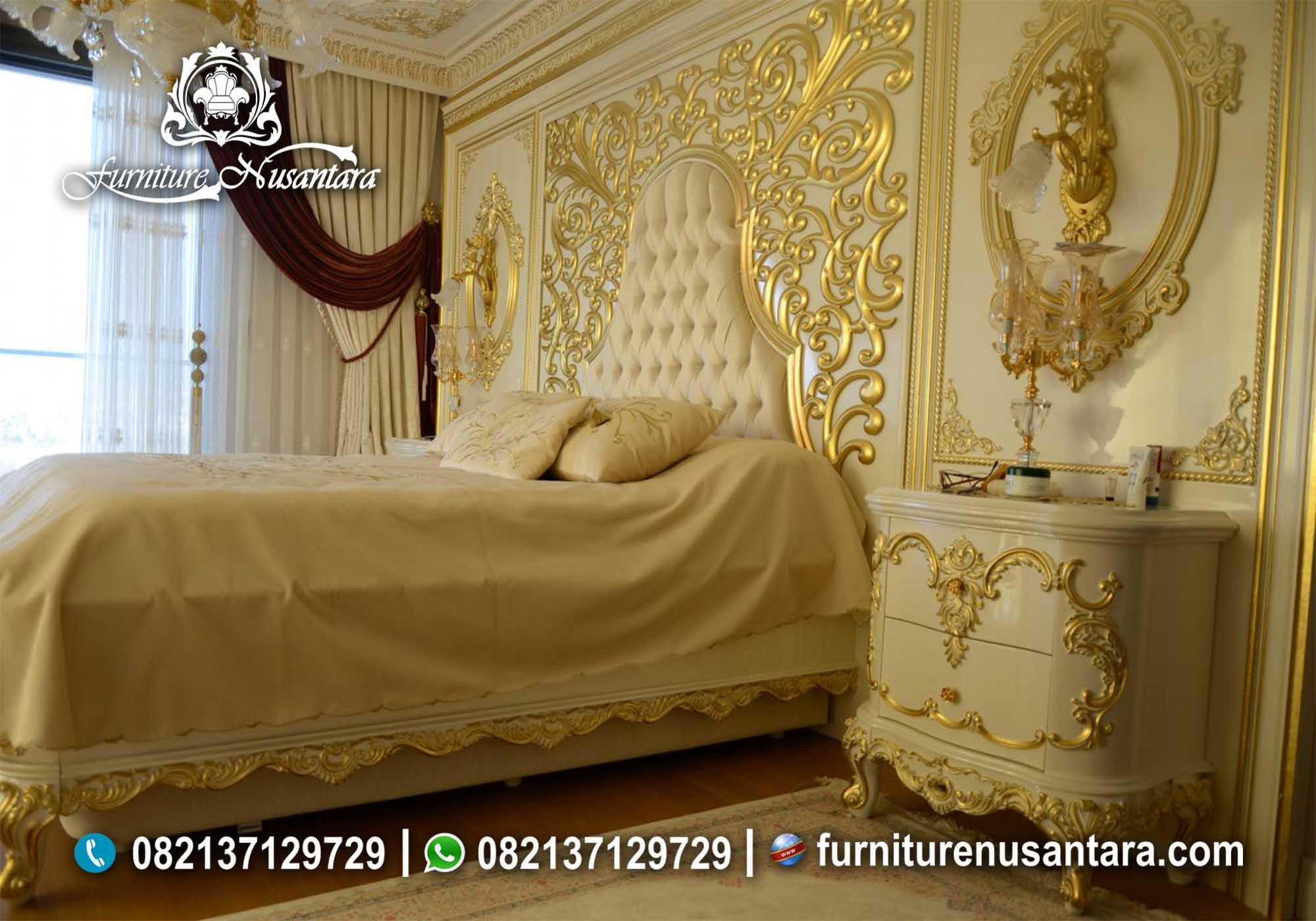 Bedroom Set Klasik Terbaru KS-04, Furniture Nusantara