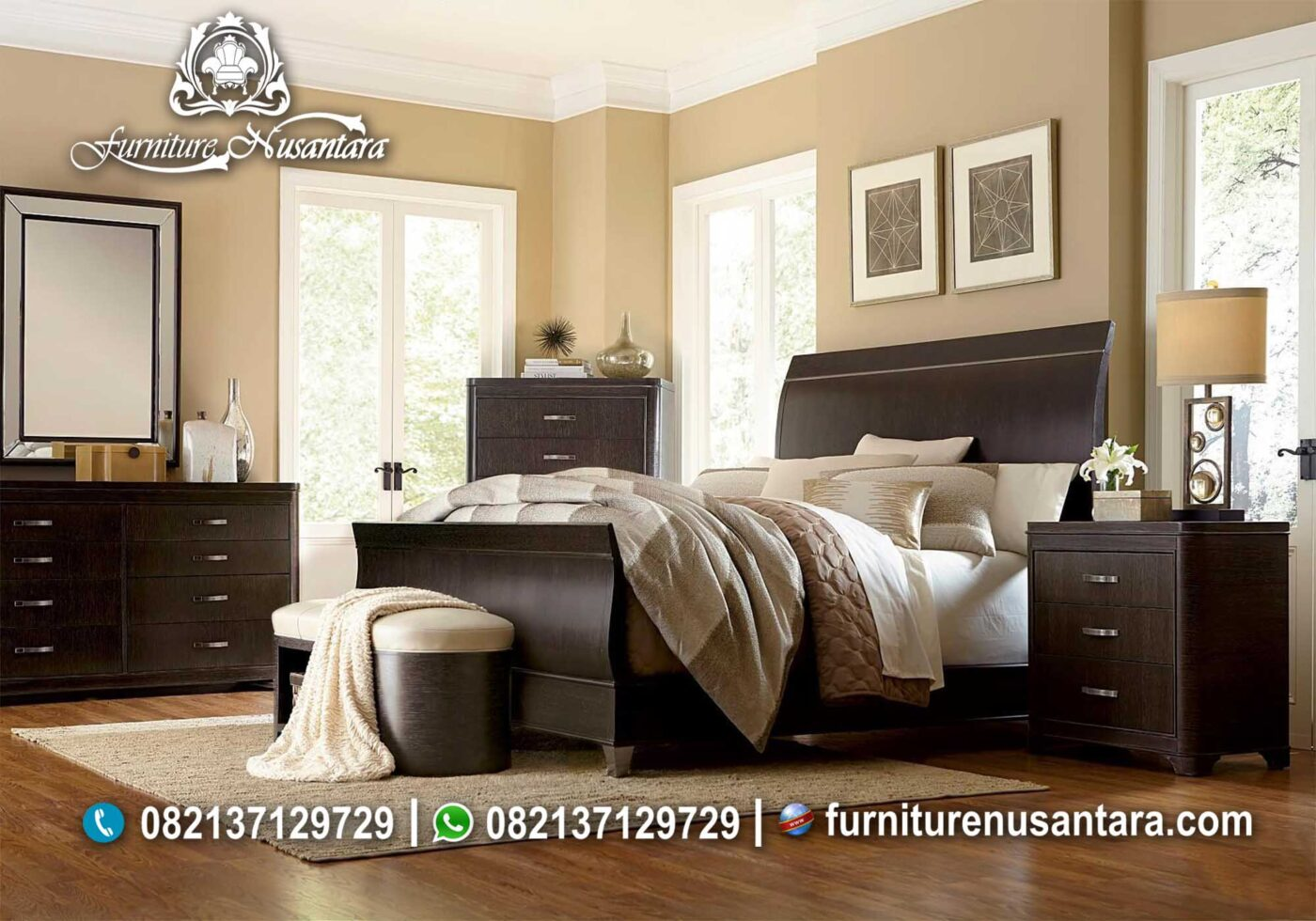 Kamar Minimalis Warna Salak KS-36, Furniture Nusantara
