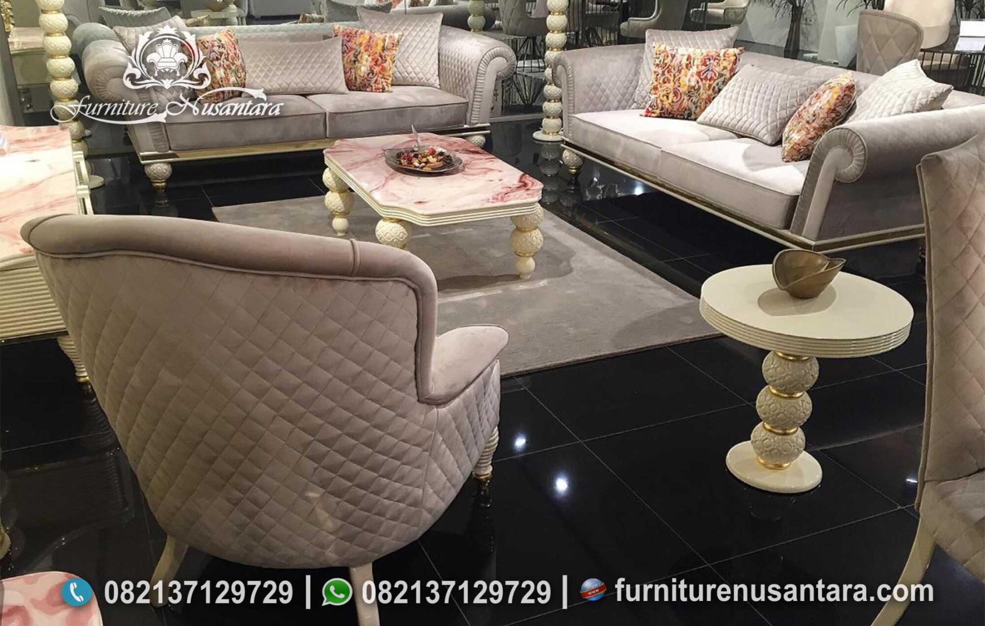 Sofa Apartemen Minimalis Terbaru ST-33, Furniture Nusantara