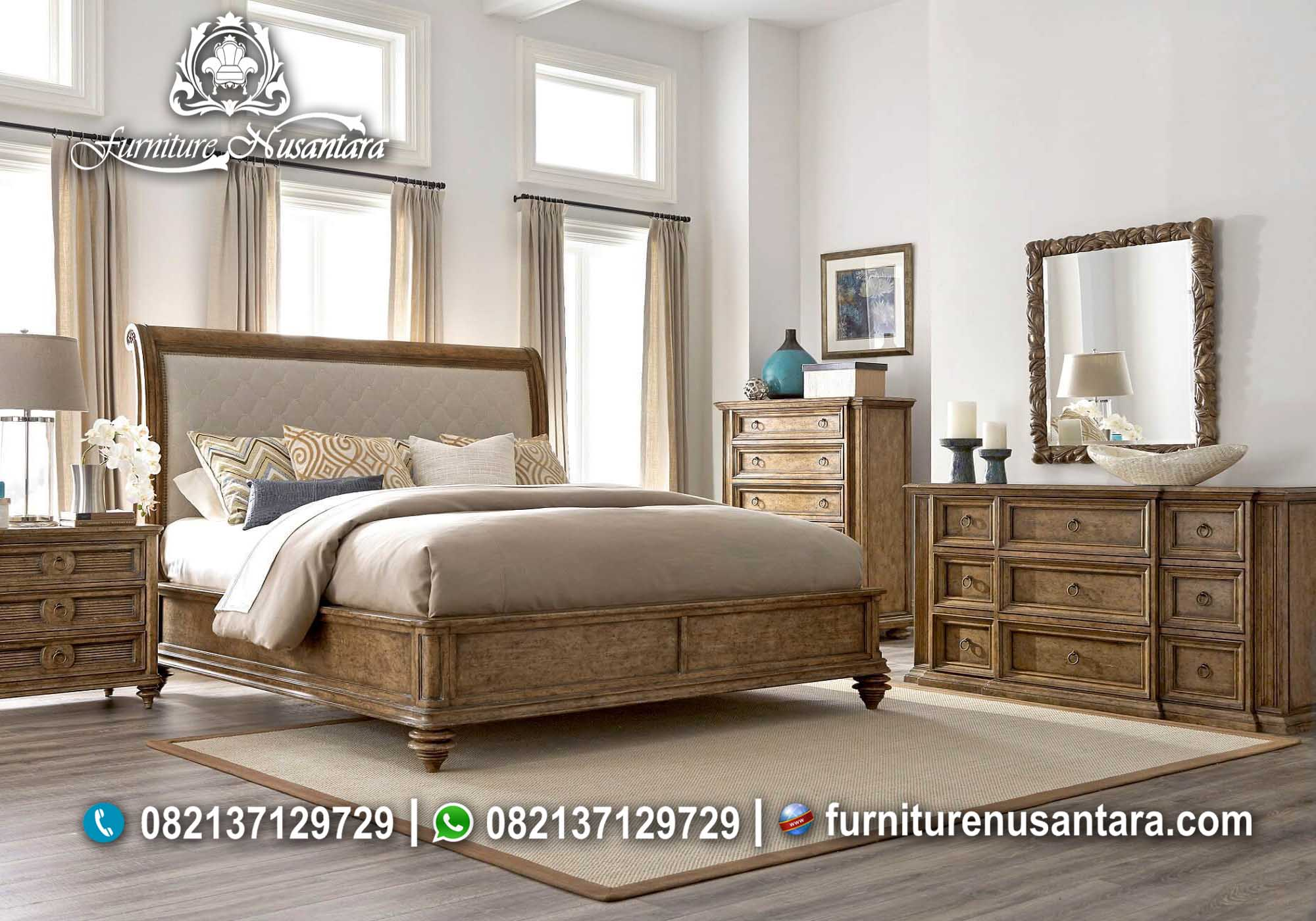 Kamar Set Jati Jepara KS-48, Furniture Nusantara