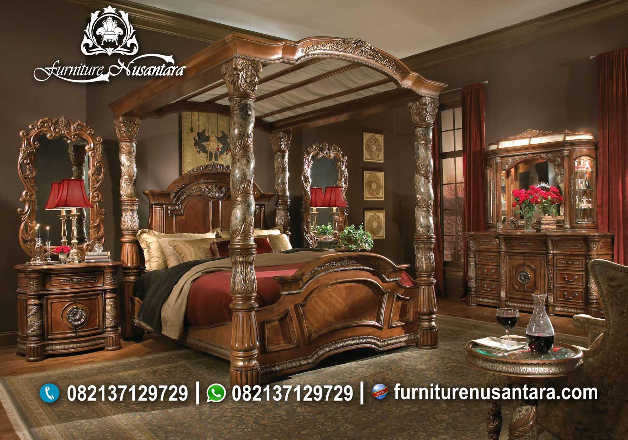 Kamar Set Kayu Terbaru KS-65, Furniture Nusantara