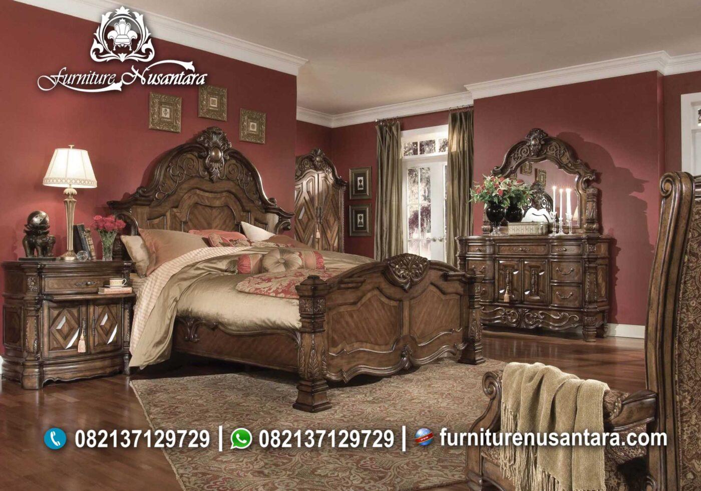Desain Kamar Set Minimalis Natural KS-75, Furniture Nusantara