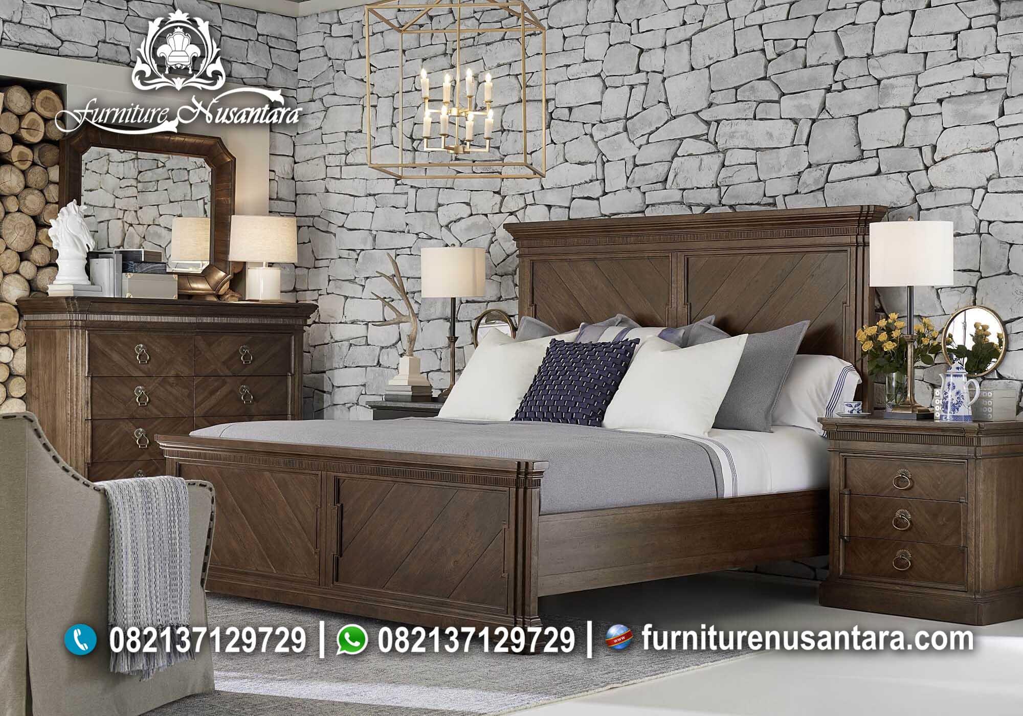 Jual Kamar Set Natural Murah KS-52, Furniture Nusantara