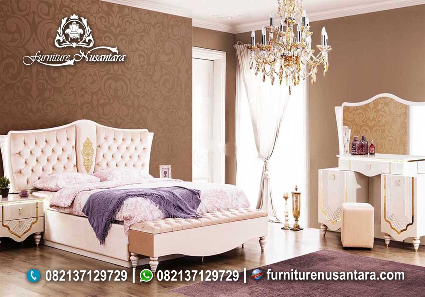 Jual Furniture Kamar Set Semarang KS-66, Furniture Nusantara