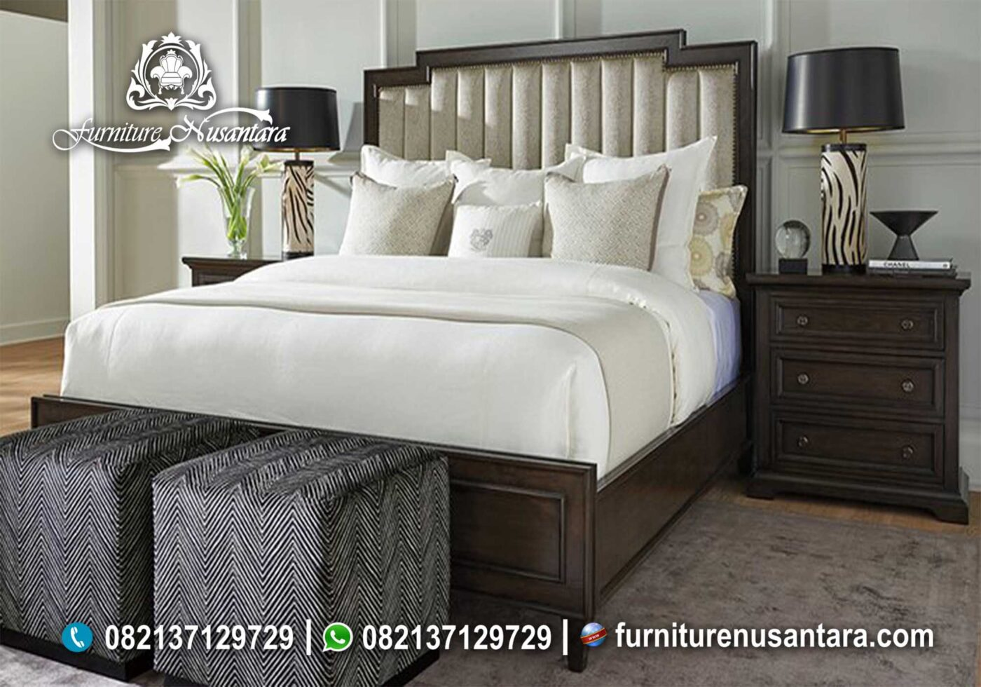 Kamar Set Minimalis KS-63, Furniture Nusantara