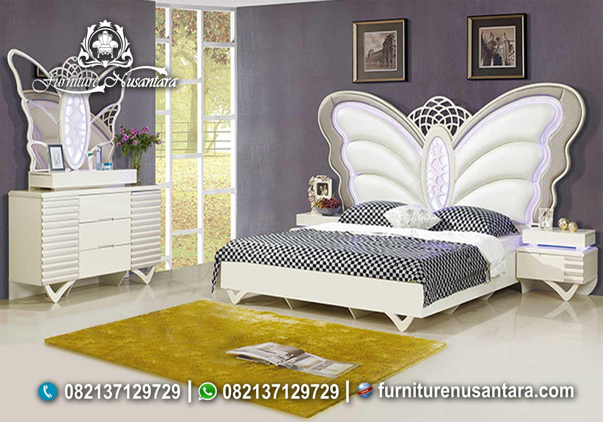 Desain Tempat Tidur Kupu Kupu KS-86, Furniture Nusantara
