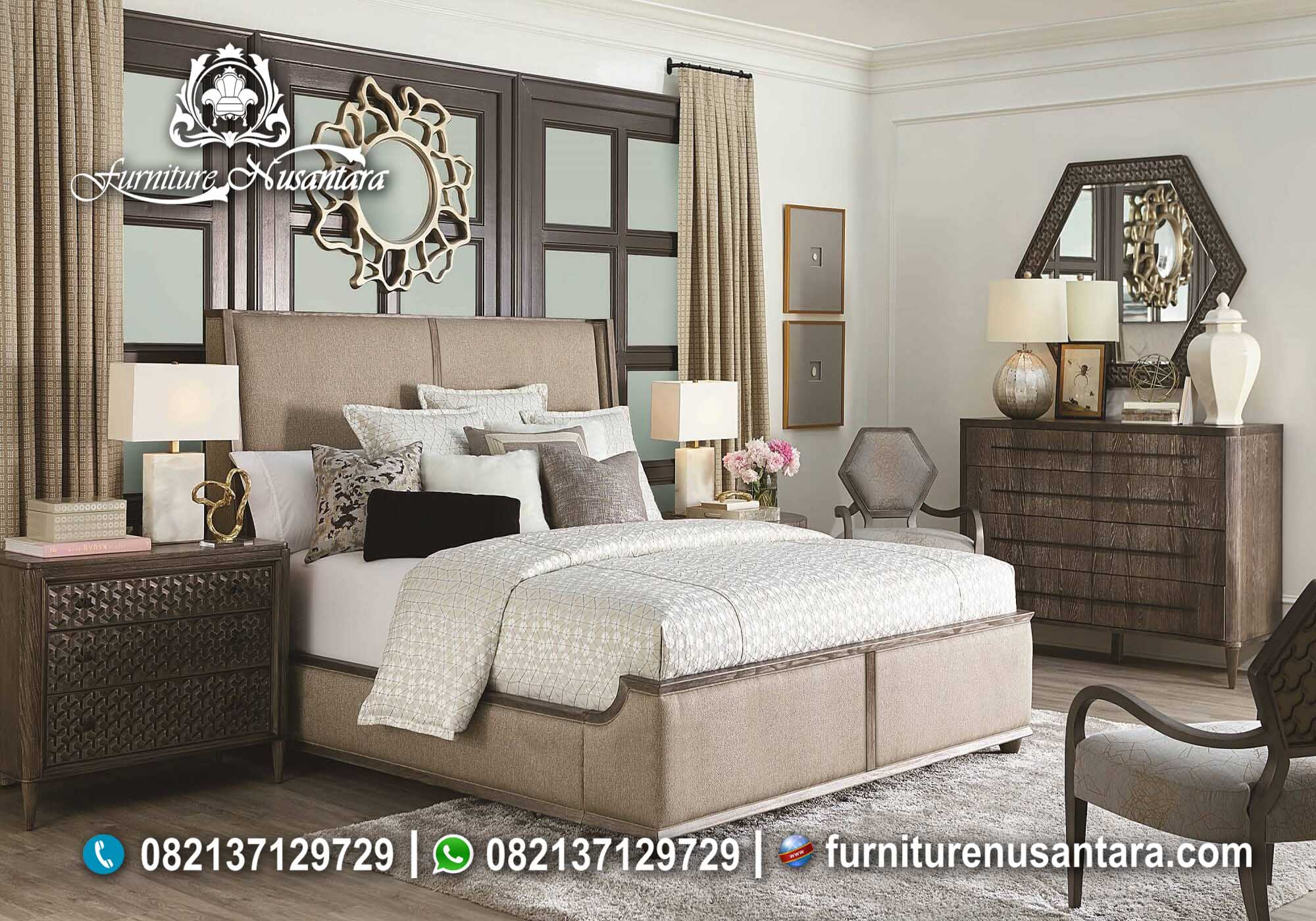Jual Tempat Tidur Minimalis Murah KS-62, Furniture Nusantara