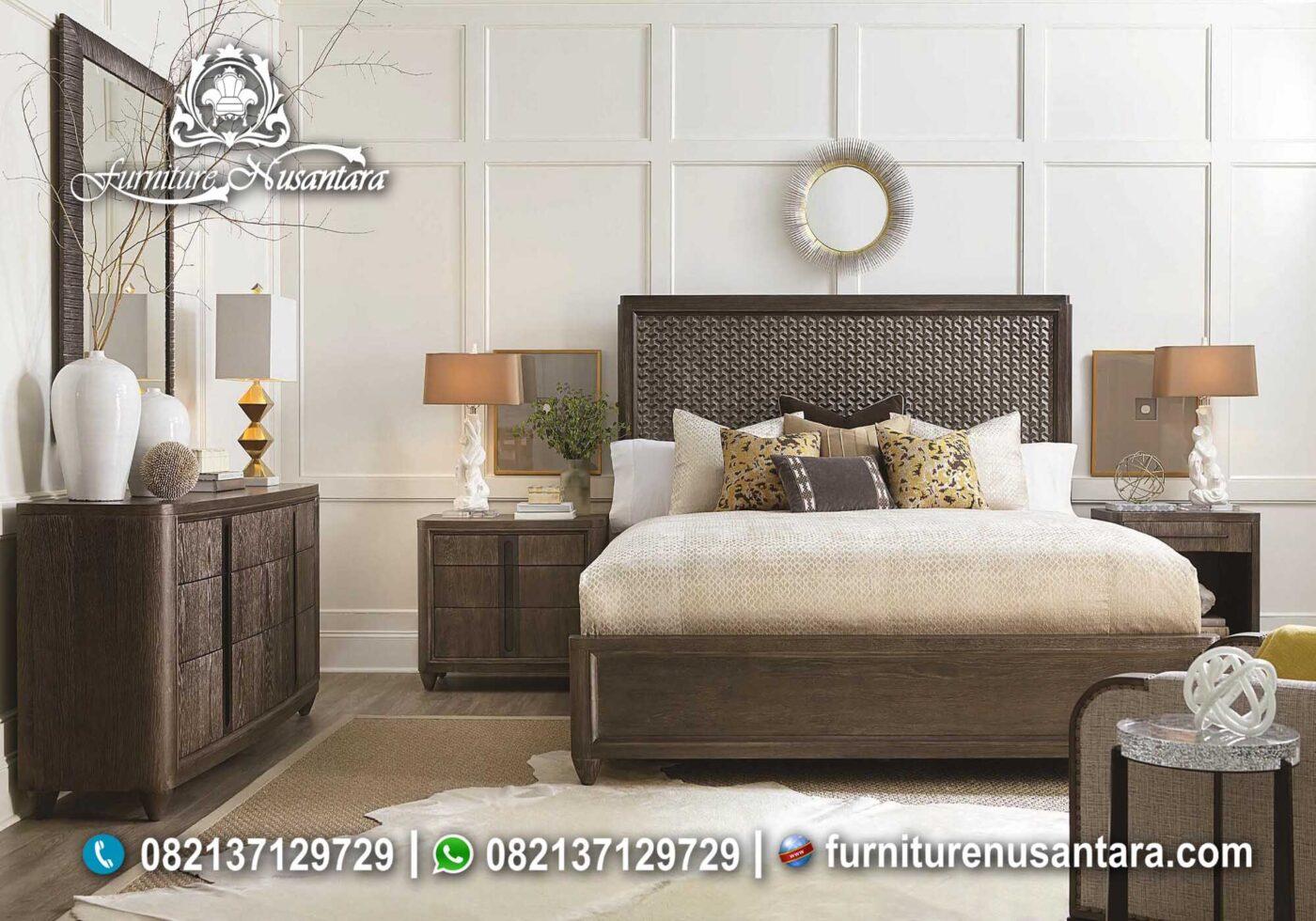 Jual Tempat Tidur Jati Murah KS-58, Furniture Nusantara