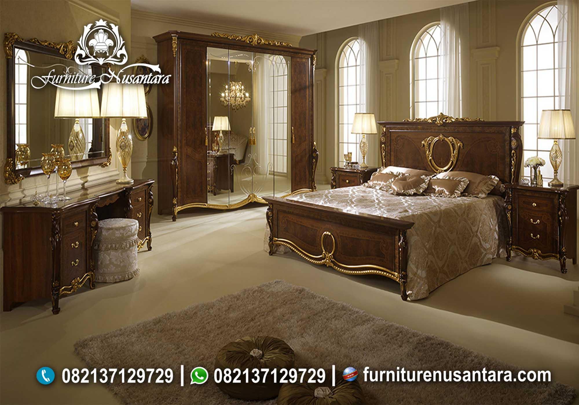 Desain Interior Kamar Jati Terbaru KS-72, Furniture Nusantara