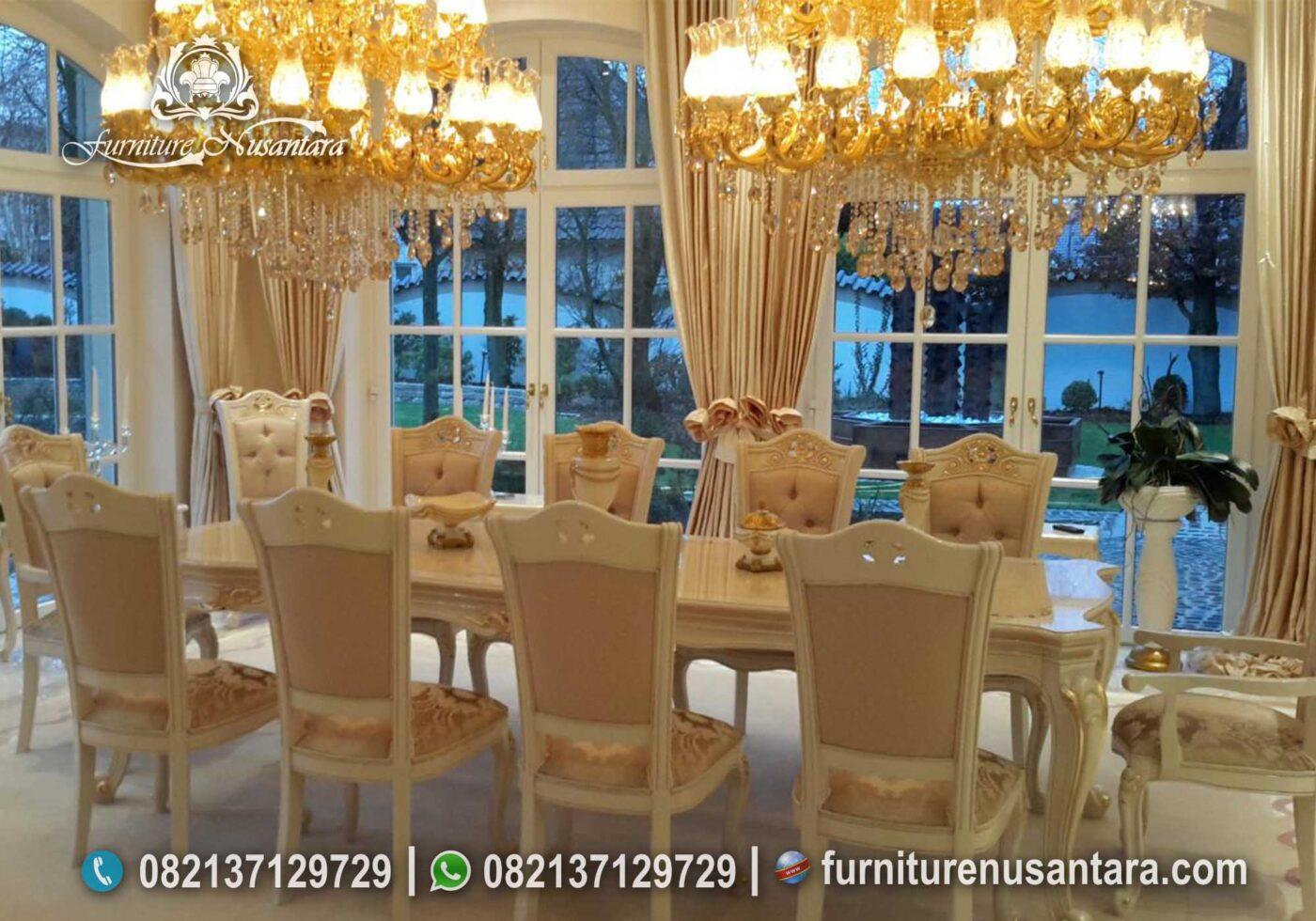 Harga Meja Makan Kayu Jati Termurah MM-11, Furniture Nusantara