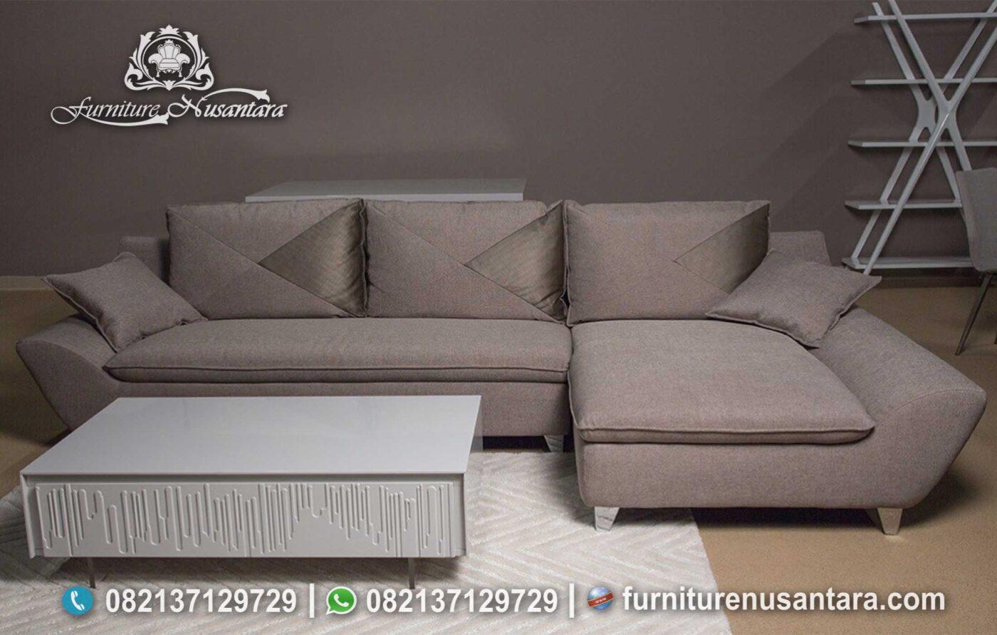 Harga Sofa Tamu Sudut 2021 ST-80, Furniture Nusantara