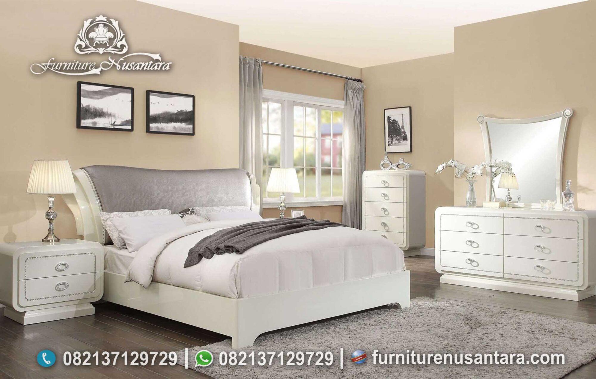 Desain Kamar Tidur Putih Mutiara KS-138, Furniture Nusantara