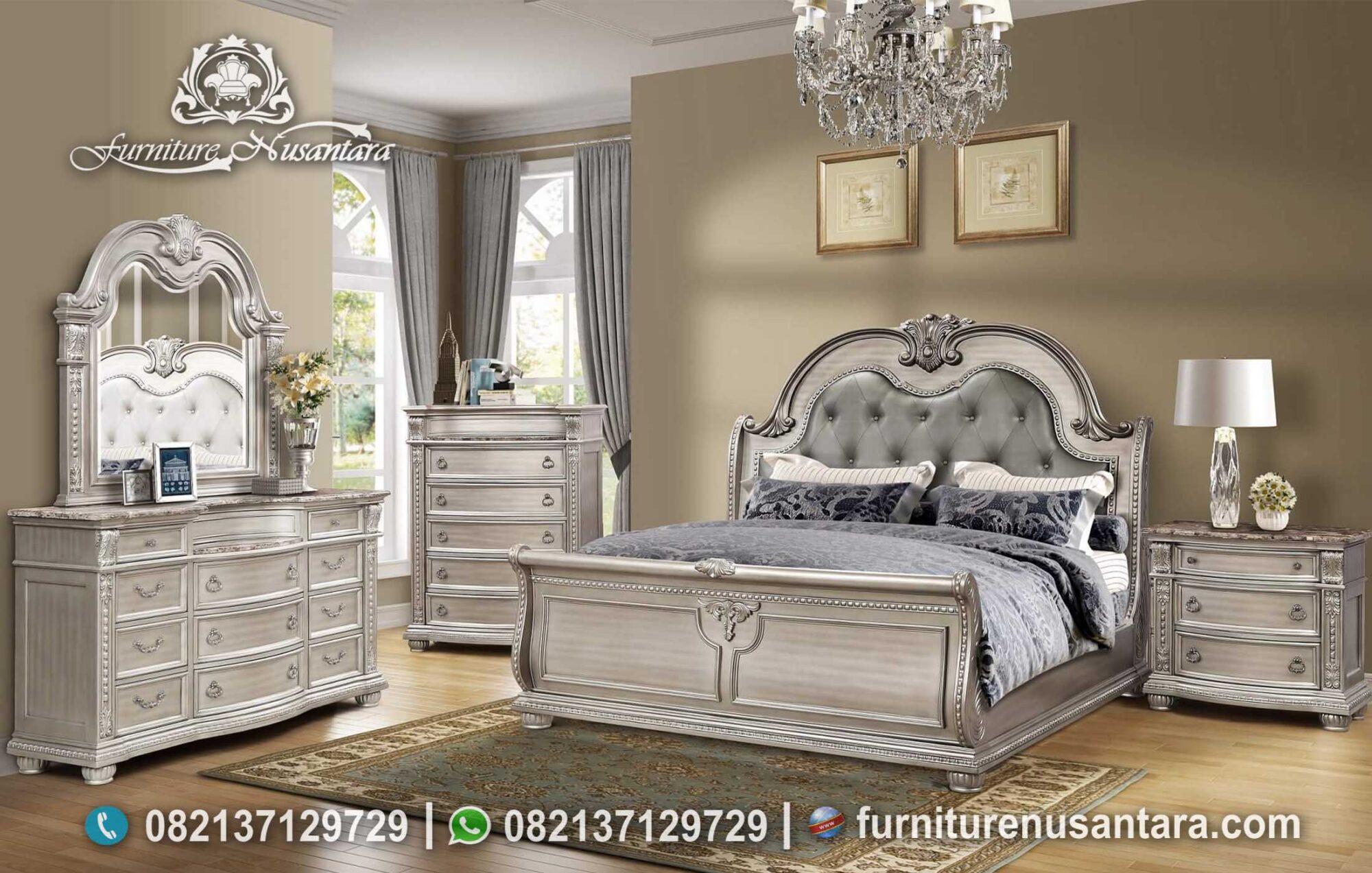 Jual Tempat Tidur Klasik Ukir Elegan KS-142, Furniture Nusantara