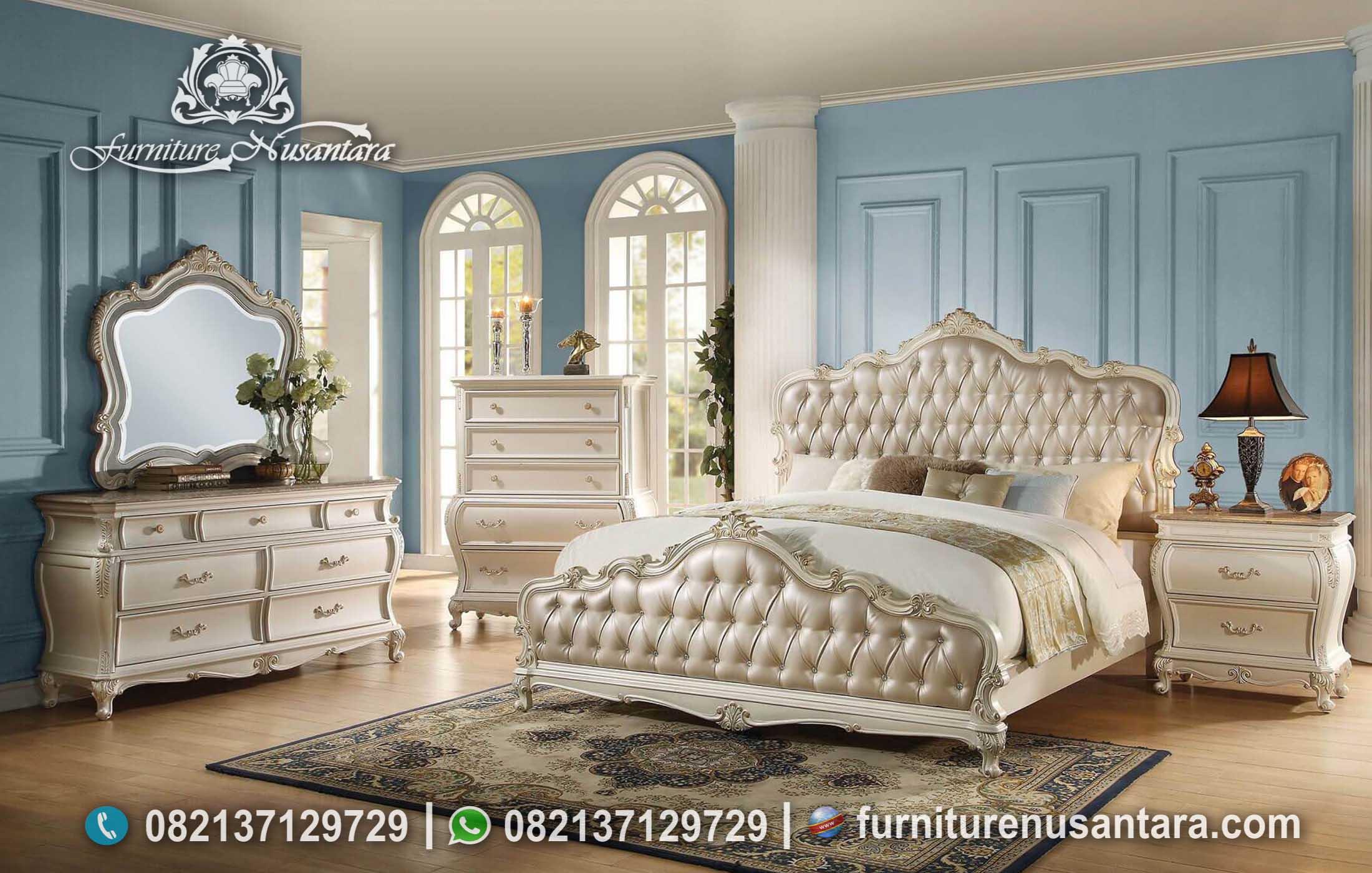 Desain Kamar Tidur Klasik Berkelas KS-143, FUrniture Nusantara