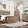 Set Tempat Tidur Model Rustic Finishing KS-153, Furniture Nusantara