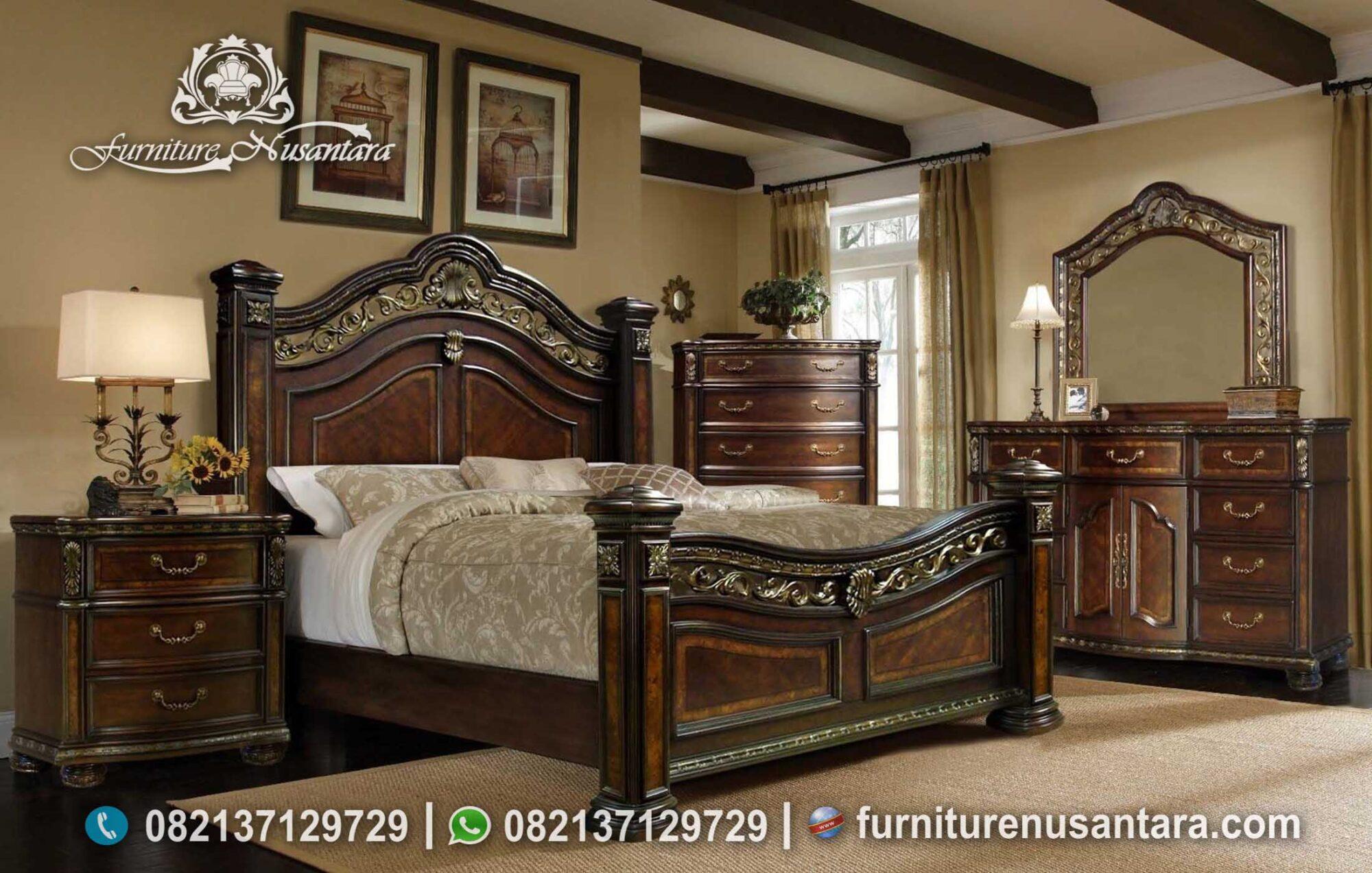 Jual Kamar Antik Kayu Jati KS-155, Furniture Nusantara