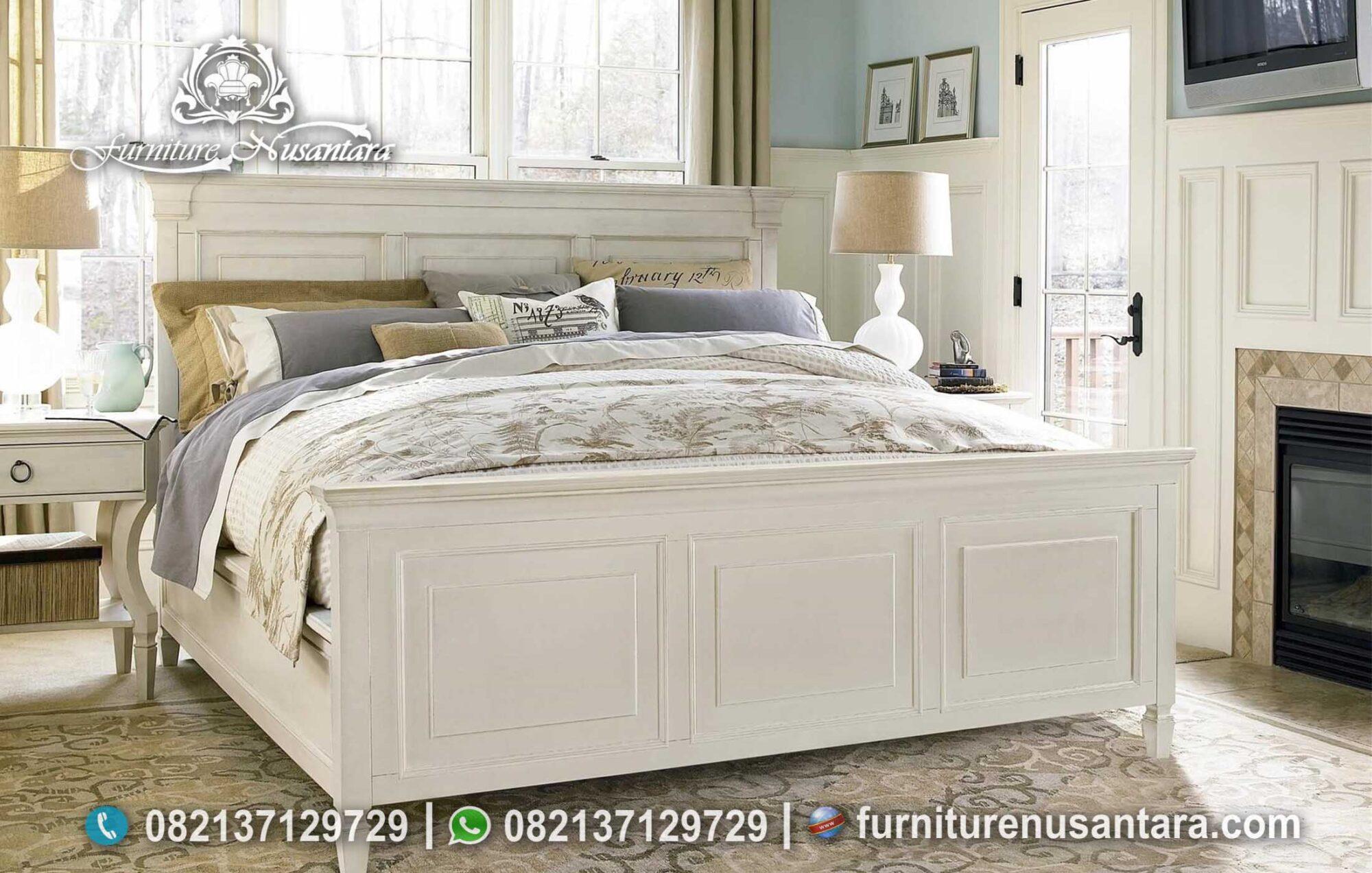Jual Tempat Tidur Putih Compact Model KS-165, Furniture Nusantara