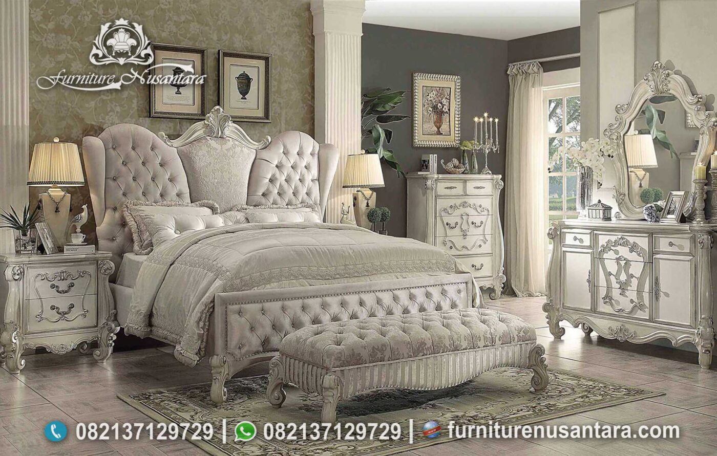 Bed Set Luxury Kourtney Kardashian Model KS-168, Furniture Nusantara