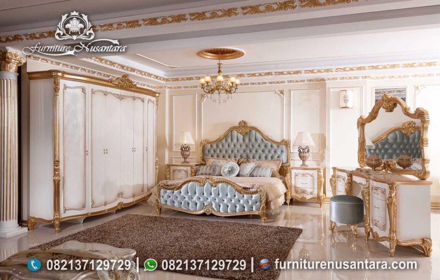 Desain Set Tempat Tidur Ukir Princes Mewah KS-171, Furniture Nusantara