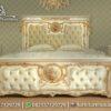 Tempat Tidur Klasik Putih Mewah KS-179, Furniture nusantara
