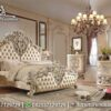 Desain Bedroom Luxury King Size Mewah KS-175, Furniture Nusantara