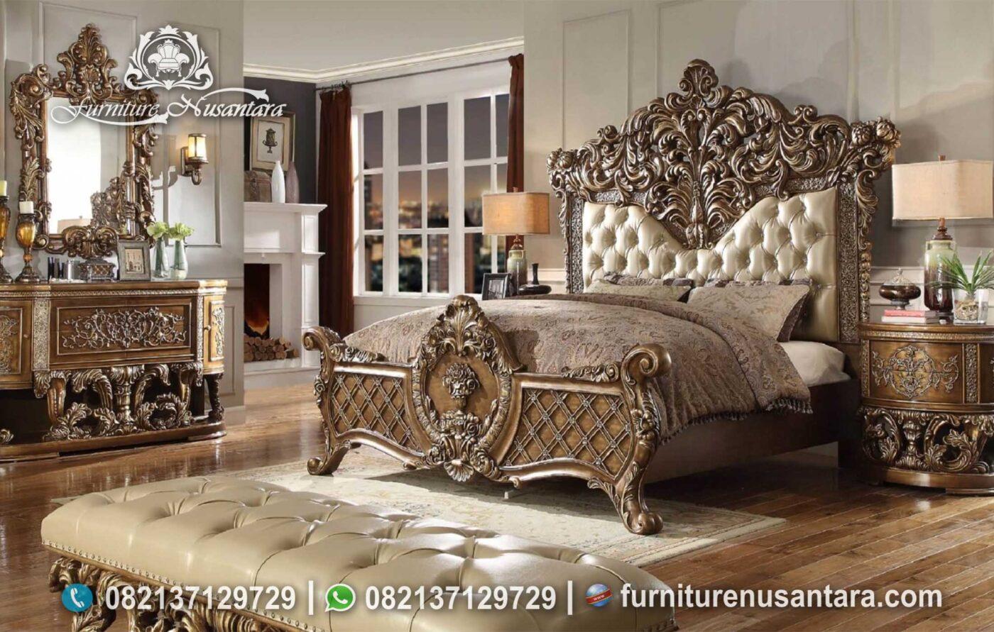 Jual Dipan Ukir Termewah Elegan KS-189, Furniture Nusantara