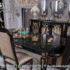 Ide Desain Ruang Makan Bernuansa Hitam MM-19, Furniture Nusantara